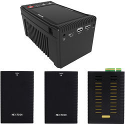 NEXTO DI Storage Bridge NSB-25 Modular Memory Card Backup System with 2 x Bridge Pellets & XQD Memory Module