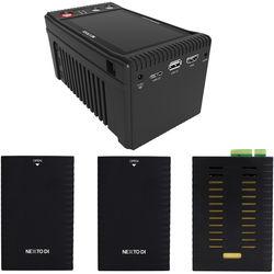 NEXTO DI Storage Bridge NSB-25 Modular Memory Card Backup System with 2 x Bridge Pellets & REDMAG Memory Module