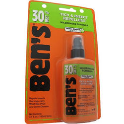 Adventure Medical Kits Ben's 30 Tick & Insect Repellent (3.4 oz, Pump Spray Bottle)