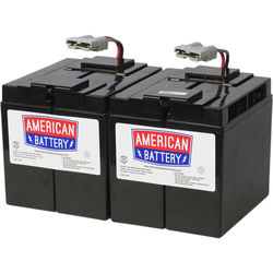 American Battery Company UPS Replacement Battery RBC55