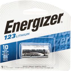 Energizer 123 Lithium Battery (3V, 1500mAh)