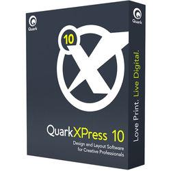 Quark QuarkXPress 10 Americas Edition (DVD, Single User)