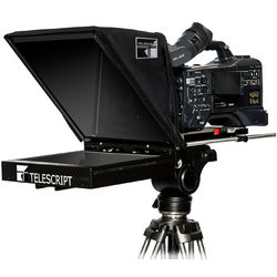 """Telescript FPS150F-SDI Fold & Go Teleprompter System with 15"""" LCD Monitor"""