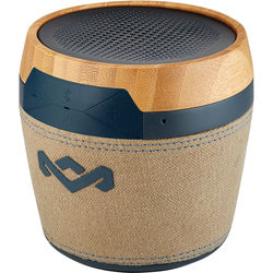 House of Marley Chant Mini Portable Bluetooth Wireless Speaker (Navy)