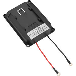 Elvid Screw-On Monitor Battery Plate for Panasonic D28