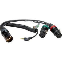 Ambient Recording HBYATCIN-L-7-35W Breakout Y-Cable for Sound Devices 664 Mixer with Timecode Lemo