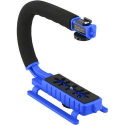 Vello ActionPan Professional Grade Stabilizing Action Grip/Handle (Blue)