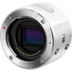 Olympus Air A01 Mirrorless Micro Four Thirds Lens-Style Digital Camera Body (White)