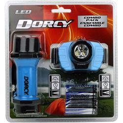 Dorcy 41-3099 LED Headlight & Flashlight Combo