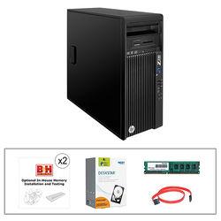HP Z230 Series F1M19UT Turnkey Workstation with 8GB RAM and 4TB Internal Hard Drive