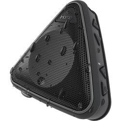 iHome iBT3 Splashproof Wireless Bluetooth Speaker with Speakerphone (Black/Gray)