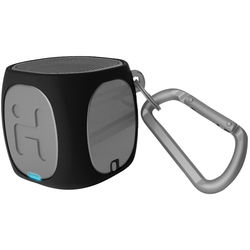 iHome iBT55 Bluetooth Rechargeable Mini Speaker (Black/Gray)