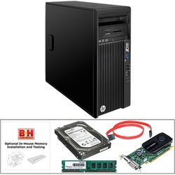 HP Z230 Series F1M19UT Turnkey Workstation with 8GB RAM, 3TB HDD, and Quadro K420