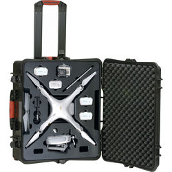 HPRC Wheeled Hard Case for DJI Phantom 3 Professional and Advanced