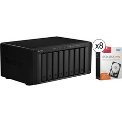 Synology DiskStation DS1815+ 48TB (8 x 6TB) 8-Bay NAS Server