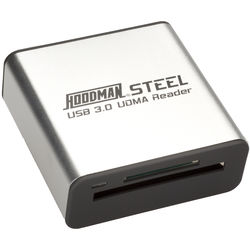 Hoodman Steel USB 3.0 UDMA Card Reader