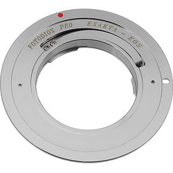 FotodioX Pro Slim Lens Mount Adapter for Select Exakta-Mount Lenses to Canon EF or EF-S Mount Camera