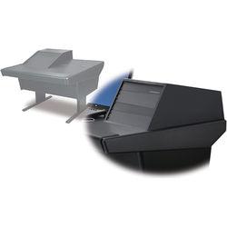 Argosy 50-V1R Universal Workspace with VR-1005 Front 10 RU & Rear 5 RU (Black)