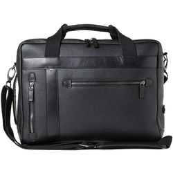 Barber Shop Borsa Undercut Convertible Camera Bag (Grained Leather, Black)