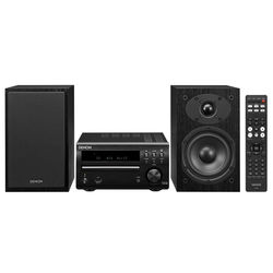 Denon D-M40BKBKE3 60W Micro Audio System (Black)