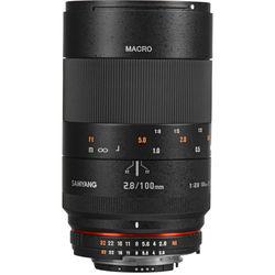 Samyang 100mm f/2.8 ED UMC Macro Lens for Nikon F