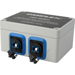 Camplex NO2-4FDW-A OpticalCON DUO to 2 SC Female Singlemode Breakout Adapter Box