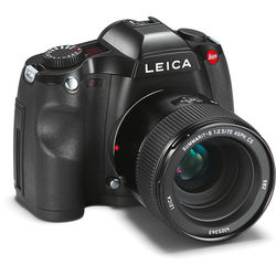 Leica S (Typ 006) Medium Format DSLR Camera with 70mm Lens Kit