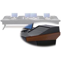 "Argosy V4RGE Universal Workstation Desk with Four VR1003 10U Front, 3U Rear Module (Mahogany, 179"")"