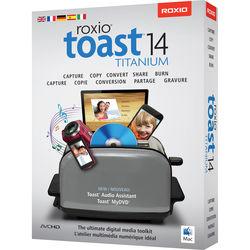 Roxio Toast 14 Titanium for Mac (Boxed)