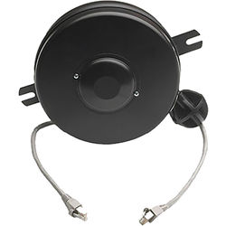 Stage Ninja Retractable CAT5e Cable Reel (15')