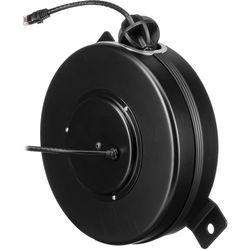 Stage Ninja Retractable CAT6 Cable Reel (65')