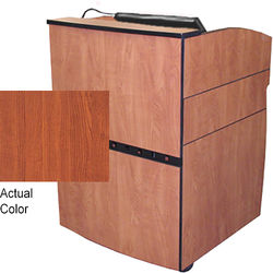 AmpliVox Sound Systems Intellect Lectern (Cherry)
