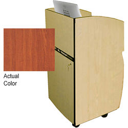 AmpliVox Sound Systems Mobilite Lectern (Cherry)