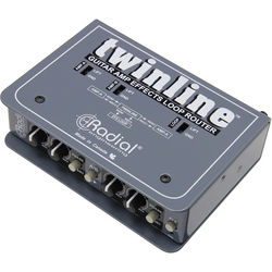 Radial Engineering Twinline FX Router for Two Guitar Amplifiers