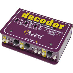 Radial Engineering Decoder Mid-Side Mic Matrix