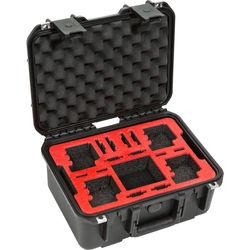 SKB iSeries 1309-6 Waterproof Dual Layer Case for 4 GoPro Cameras