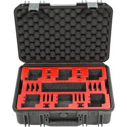 SKB iSeries 1711-6 Waterproof Dual Layer Case for 6 GoPro Cameras