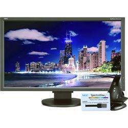 "NEC MultiSync EA275UHD-BK-SV 27"" 4K UHD sRGB IPS Monitor with SpectraViewII"