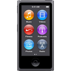 Apple 16GB iPod nano (Space Gray, 7th Generation, 2015 Model)