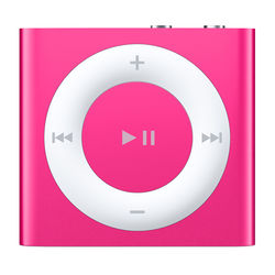Apple 2GB iPod shuffle (Pink, 4th Generation, 2015 Model)