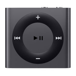 Apple 2GB iPod shuffle (Space Gray, 4th Generation, 2015 Model)