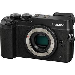 Panasonic Lumix DMC-GX8 Mirrorless Micro Four Thirds Digital Camera (Body Only, Black)