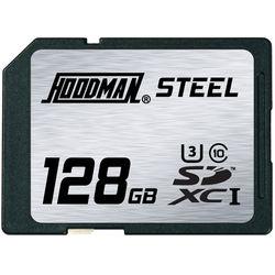 Hoodman 128GB SDXC Memory Card RAW STEEL Class 10 UHS-1