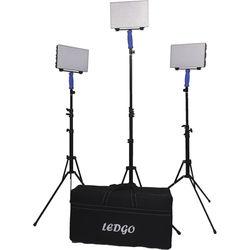 Ledgo 560 On-Location Bi-Color LED Video 3-Light Kit