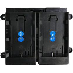 TVLogic 7.4V Battery Bracket for Canon LP-E6 Batteries (Dual)
