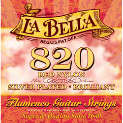 LABELLA Elite Flamenco Red Nylon Classical Guitar Strings