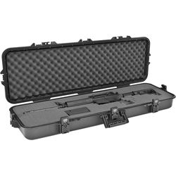 Plano All-Weather Rifle Case with Pluck Foam (Black)