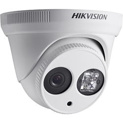 Hikvision DS-2CE56C5T-IT18 720p Turbo HD EXIR Low-Light Turret Camera with Night Vision (8mm Lens, NTSC)