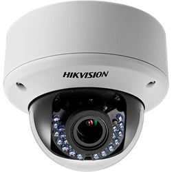 Hikvision TurboHD Series 2MP Outdoor HD-TVI Dome Camera with Night Vision (White)