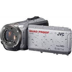 JVC GZ-R310SEU Quad Proof Camcorder (PAL, Silver)